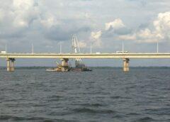 На мосту «Саратов — Энгельс» начались ремонтные работы