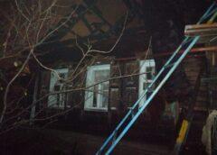 Мать и сын погибли в сгоревшем доме
